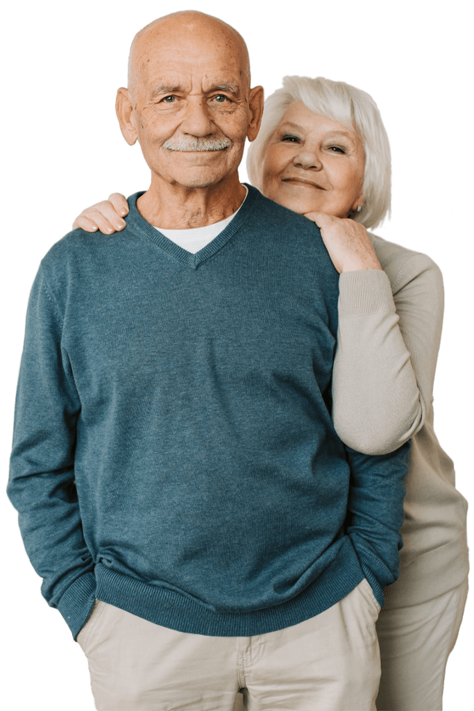 Power of attorney old couple